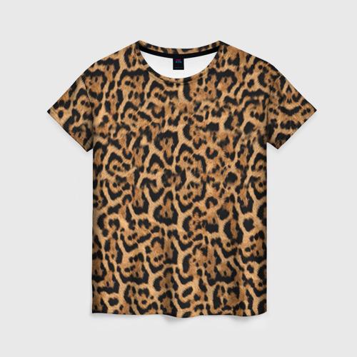 Женская футболка 3D Jaguar