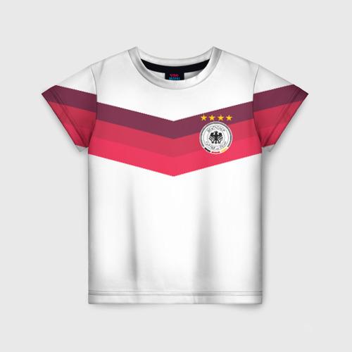 Детская футболка 3D Сборная Германии по футболу
