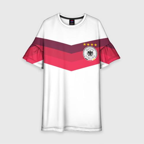 Детское платье 3D Сборная Германии по футболу