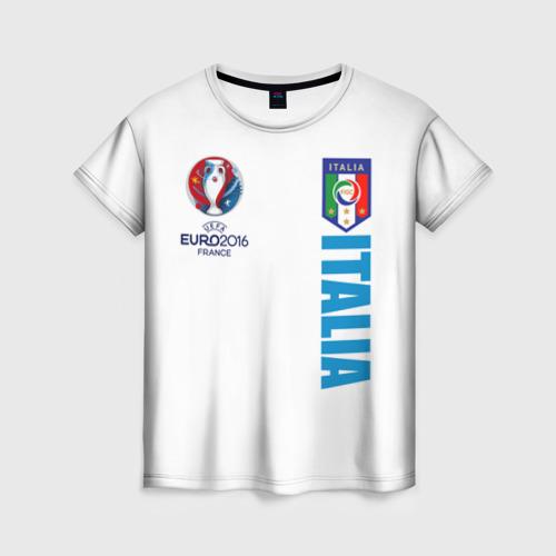 Женская футболка 3D Евро 2016