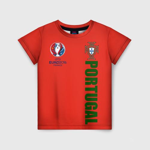 Детская футболка 3D Евро 2016