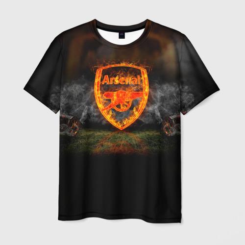 Мужская футболка 3D Arsenal FC. Gunners