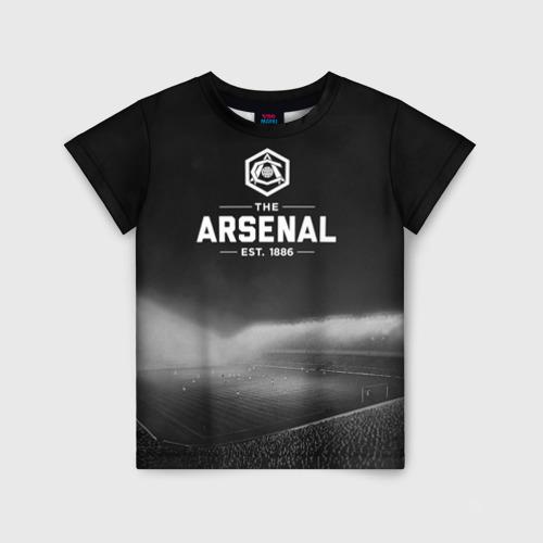 Детская футболка 3D Arsenal FC