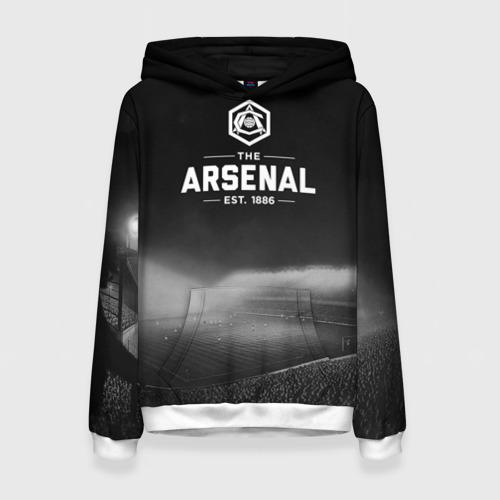 Женская толстовка 3D Arsenal FC