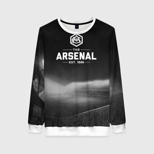 Женский свитшот 3D Arsenal FC