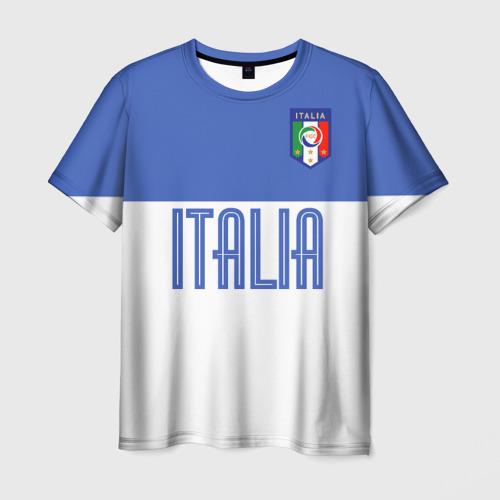 Мужская футболка 3D Сборная Италии по футболу