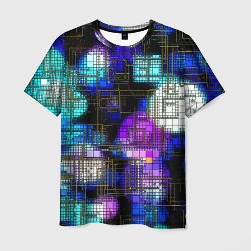 Мужская футболка 3D Плата