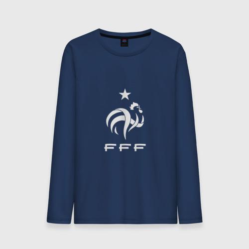 Мужской лонгслив хлопок Сборная Франции по футболу