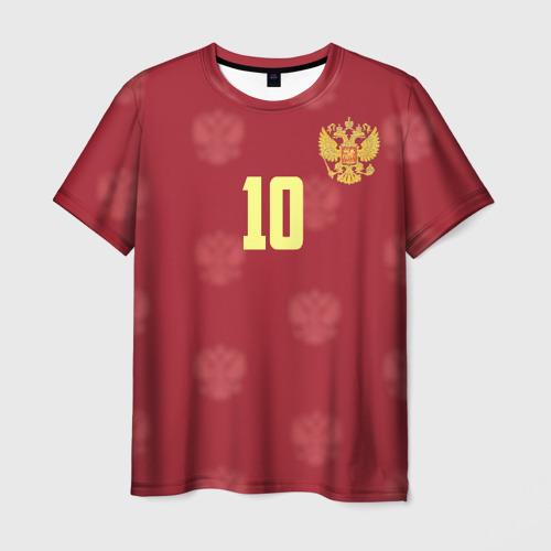 Мужская футболка 3D Федор Смолов