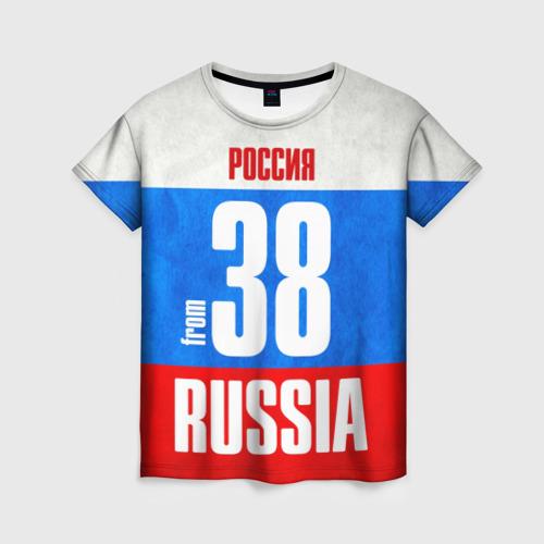 Женская футболка 3D Russia (from 38)