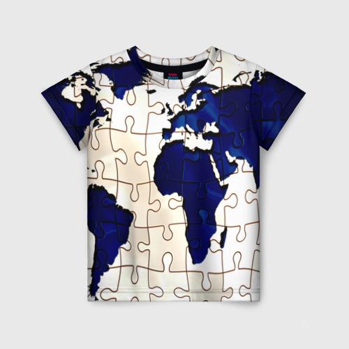 Детская футболка 3D Мир