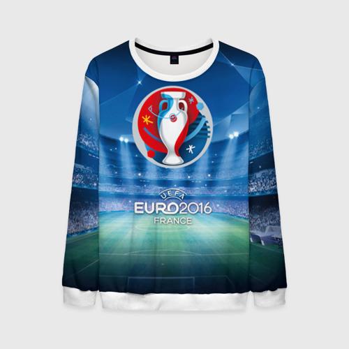 Мужской свитшот 3D Euro 2016