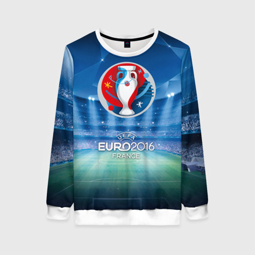 Женский свитшот 3D Euro 2016