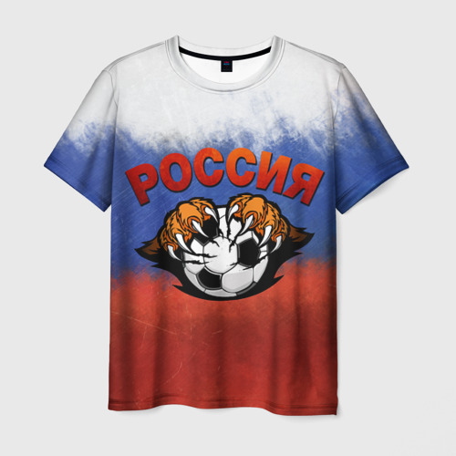 Мужская футболка 3D Euro 2016
