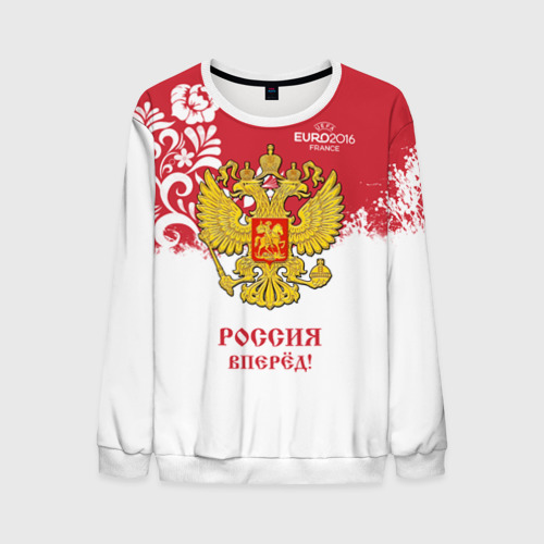 Мужской свитшот 3D Euro 2016 (Russia)