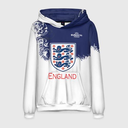 Мужская толстовка 3D Euro 2016 (England)
