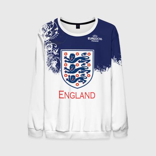 Мужской свитшот 3D Euro 2016 (England)