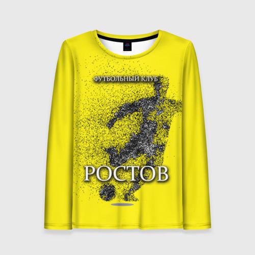 Женский лонгслив 3D ФК Ростов