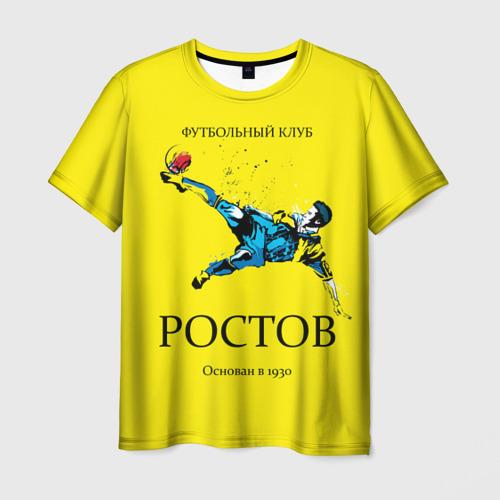 Мужская футболка 3D ФК Ростов
