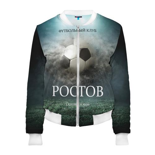Женский бомбер 3D FK Rostov
