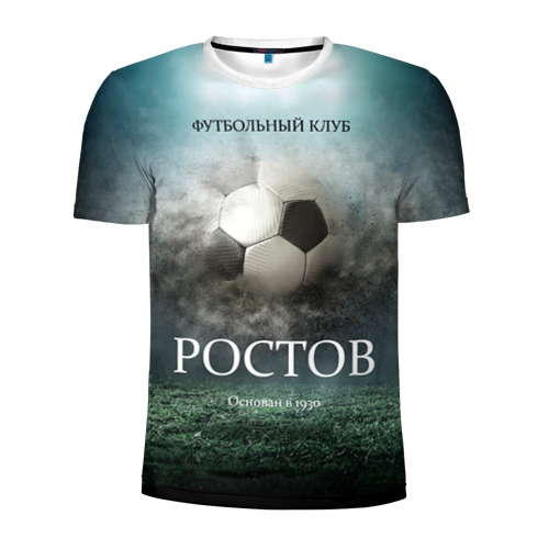Мужская футболка 3D спортивная FK Rostov