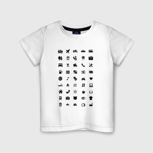 Детская футболка хлопок В путешествие