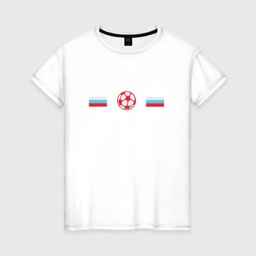 Женская футболка хлопок Сборная России