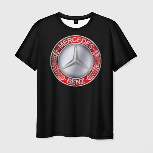 Мужская футболка 3D MERSEDES BENZ