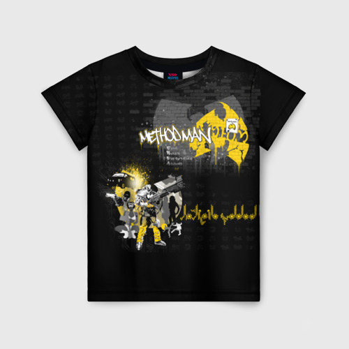 Детская футболка 3D Wu-Tang Clan