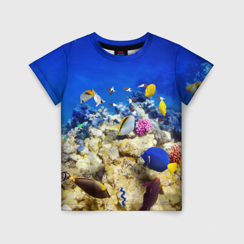Детская футболка 3D Море 2