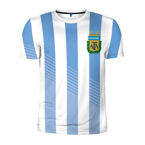 Мужская футболка 3D спортивная Сборная Аргентины по футболу