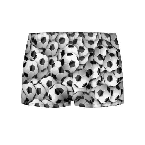 Мужские трусы 3D Футбольные мячи