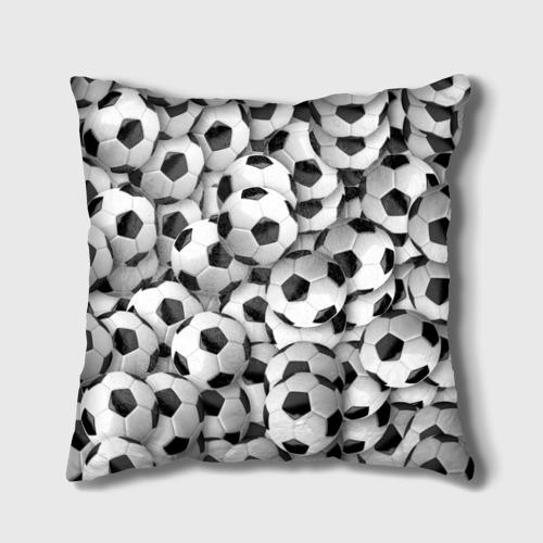 Подушка 3D Футбольные мячи