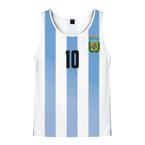 Мужская майка 3D Месси (сборная Аргентины)