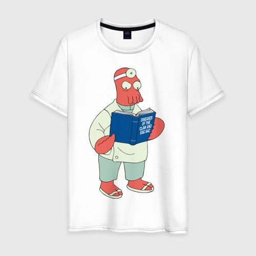 Мужская футболка хлопок Доктор Зойдберг