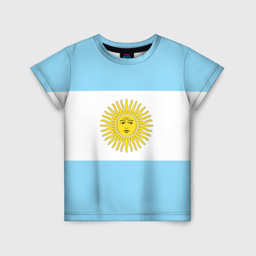 Детская футболка 3D Аргентина