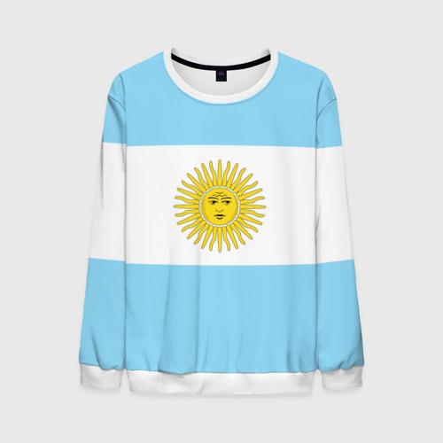 Мужской свитшот 3D Аргентина