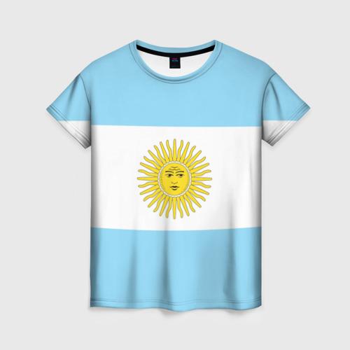 Женская футболка 3D Аргентина