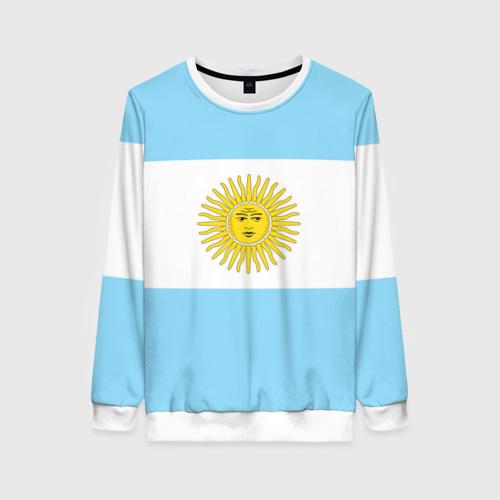 Женский свитшот 3D Аргентина