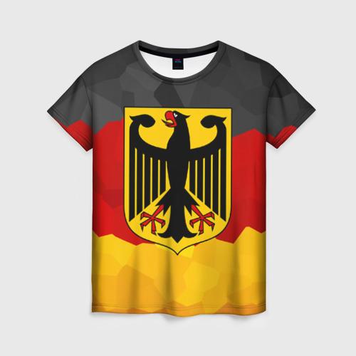 Женская футболка 3D Германия