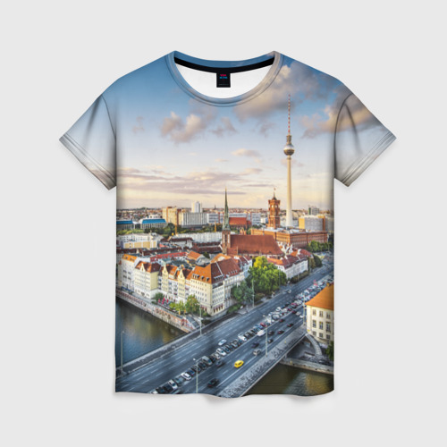 Женская футболка 3D Germany