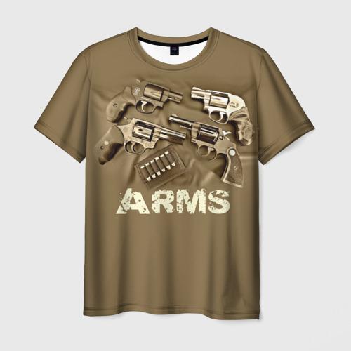 Мужская футболка 3D Оружие