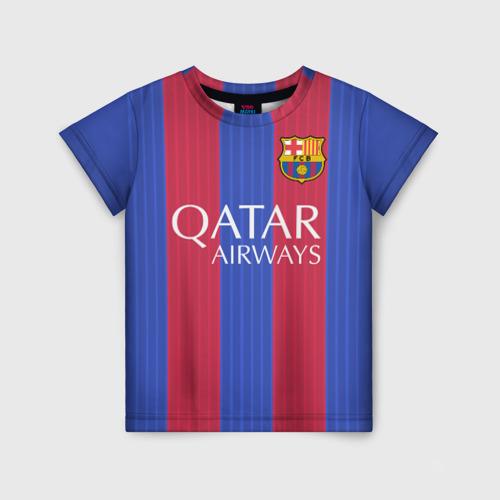 Детская футболка 3D Барселона форма