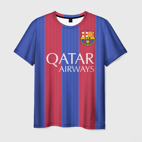 Мужская футболка 3D Барселона форма