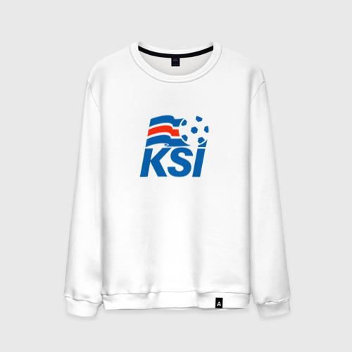 Мужской свитшот хлопок Сборная Исландии по футболу