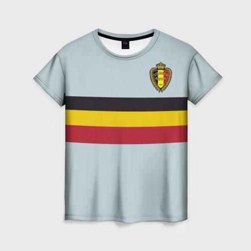 Женская футболка 3D Сборная Бельгия