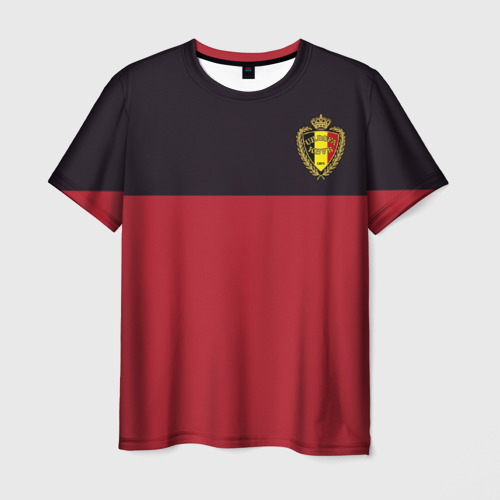 Мужская футболка 3D Сборная Бельгия
