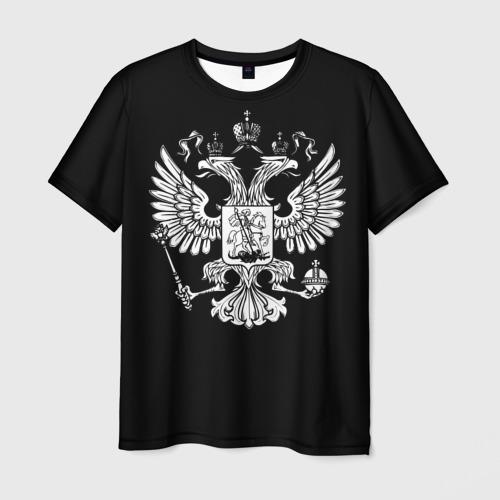 Мужская футболка 3D Двуглавый орел
