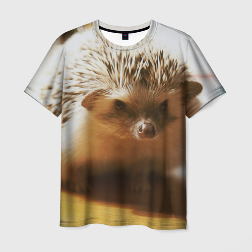 Мужская футболка 3D Ежик 4