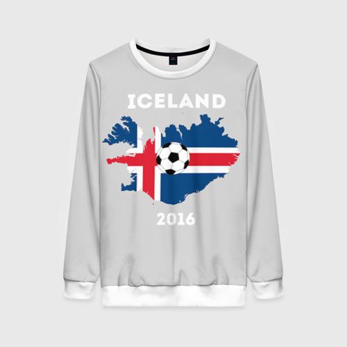 Женский свитшот 3D Исландия